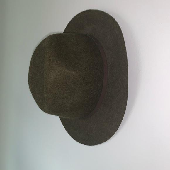 Banana Republic // Green Wide Brim Felt Hat // NWT